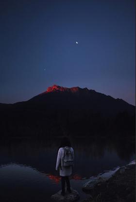 Mars, Venus and the Moon with Odak