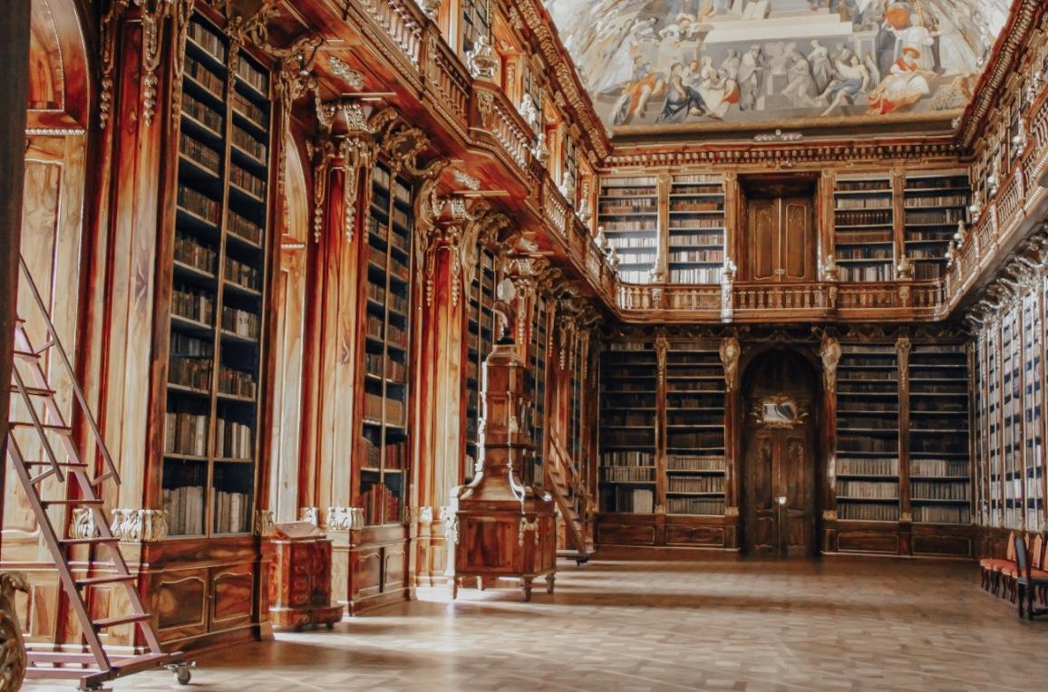 bibliothèque de prague image